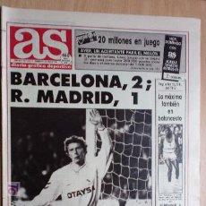 Coleccionismo deportivo: AS-1991-Nº7357-BARSA,2-MADRID,1-GIL QUIERE SER ALCALDE DE MARBELLA-. Lote 21125644