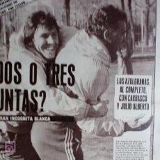 Coleccionismo deportivo: AS-1984-Nº5357-BARSA-REAL-CARRASCO Y JULIO ALBERTO JUGARAN-VALDANO NO-. Lote 21126857