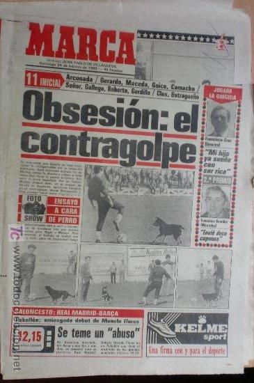MARCA-1985-Nº13414- (Coleccionismo Deportivo - Revistas y Periódicos - Marca)