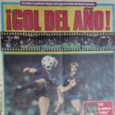 Coleccionismo deportivo: SPORT-1985-Nº2143-48 PAGINAS-MARCOS-CASAUS-CRUYFF-SCHUSTER-LAURIDSEN-CLEMENTE-VALDANO-SARABIA. Lote 21148285
