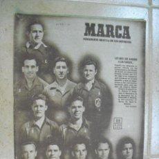 Coleccionismo deportivo: MARCA REVISTA Nº 395- 27 DE JUNIO 1950,(PARTIDO ESPAÑA 3 ESTADOS UNIDOS 1). Lote 25627011