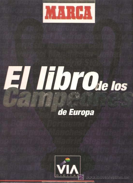 EL LIBRO DE LOS CAMPEONES DE EUROPA DIARIO MARCA ALBUM COMPLETO (Coleccionismo Deportivo - Revistas y Periódicos - Marca)