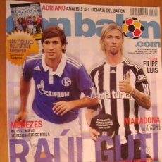 Coleccionismo deportivo - REVISTA DON BALON Nº 1814 RAUL - GUTI NUEVA VIDA 2010 - 24808505