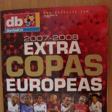 Coleccionismo deportivo: REVISTA DON BALON EXTRA COPAS EUROPEAS 2007/08. Lote 25132561