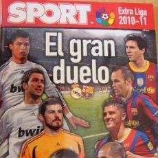 Coleccionismo deportivo: REVISTA SPORT EXTRA LIGA 2010/11. Lote 25197541