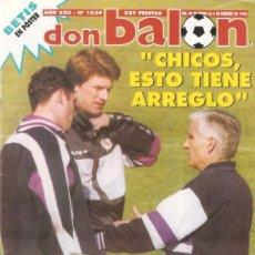 Coleccionismo deportivo: REVISTA DON BALON Nº 1059 FEBRERO 1996. Lote 21357896