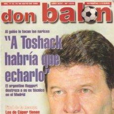 Coleccionismo deportivo: REVISTA DON BALON Nº 1231 MAYO 1999. Lote 21357922