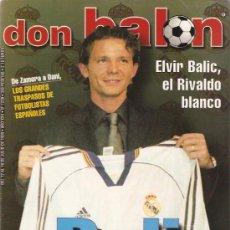 Coleccionismo deportivo: REVISTA DON BALON Nº 1239 JULIO 1999. Lote 21358032