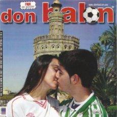 Coleccionismo deportivo: REVISTA DON BALON Nº 1331 ABRIL 2001. Lote 21358046