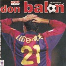 Coleccionismo deportivo: REVISTA DON BALON Nº 1339 JUNIO 2001. Lote 21358091
