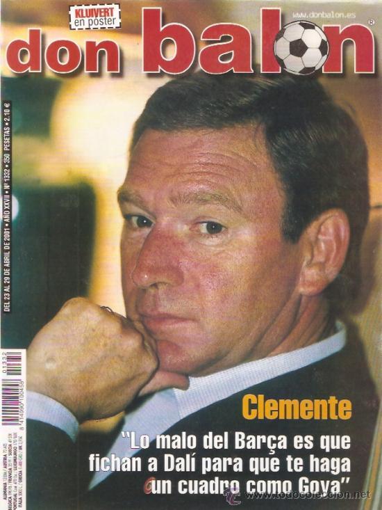 REVISTA DON BALON Nº 1332 ABRIL 2001 (Coleccionismo Deportivo - Revistas y Periódicos - Don Balón)