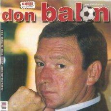 Coleccionismo deportivo: REVISTA DON BALON Nº 1332 ABRIL 2001. Lote 21358223