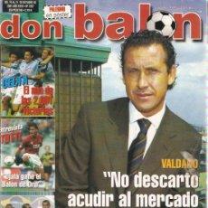 Coleccionismo deportivo: REVISTA DON BALON Nº 1357 OCTUBRE 2001. Lote 21358257