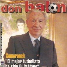 Coleccionismo deportivo: REVISTA DON BALON Nº 1329 ABRIL 2001. Lote 21358268