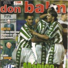 Coleccionismo deportivo: REVISTA DON BALON Nº 1355 OCTUBRE 2001. Lote 21358331