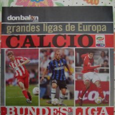 Coleccionismo deportivo: REVISTA DON BALON EXTRA GRANDES LIGAS EUROPEAS 2010/11. Lote 24899523