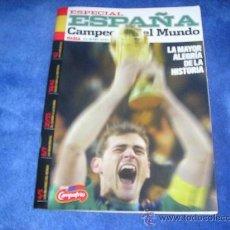 Coleccionismo deportivo: REVISTA ESPECIAL ESPAÑA CAMPEONA DEL MUNDO. Lote 21575851