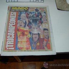 Coleccionismo deportivo: EL BARÇA CAMPEÓN DE LA CHAMPIONS LEAGUE DE 2009. DIARIO MUNDO DEPORTIVO, 28 DE MAYO DE 2009. Lote 27036627
