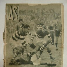 Coleccionismo deportivo: AS. DIARIO. Nº 124. 5 NOVIEMBRE 1934.. Lote 21939752