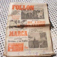Collezionismo sportivo: PERIODICO MARCA LUNES 31 DE MARZO 1980 .. Lote 26308582