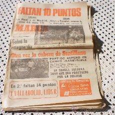 Collezionismo sportivo: PERIODICO MARCA , LUNES 14 DE ABRIL 1980 .. Lote 26308585