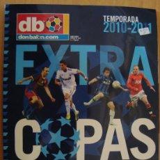 Coleccionismo deportivo: REVISTA DON BALON EXTRA COPAS DE EUROPA 2010/11. Lote 25888665