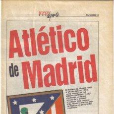 Coleccionismo deportivo: COLECCIONABLE DEL AS ASES DEL DEPORTE Nº3 AT.MADRID - GOLY. Lote 27375014