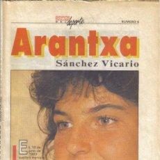 Coleccionismo deportivo: COLECCIONABLE DEL AS ASES DEL DEPORTE Nº4 ARANCHA SANCHEZ VICARIO - GOLY. Lote 27603661