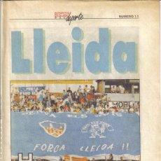 Coleccionismo deportivo: COLECCIONABLE DEL AS ASES DEL DEPORTE Nº11 LLEIDA - GOLY. Lote 27375040