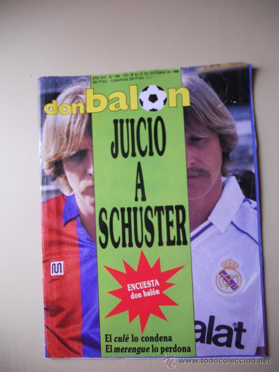 REVISTA DON BALON AÑO 1988. POSTER DEL ELCHE 88/89 (Coleccionismo Deportivo - Revistas y Periódicos - Don Balón)