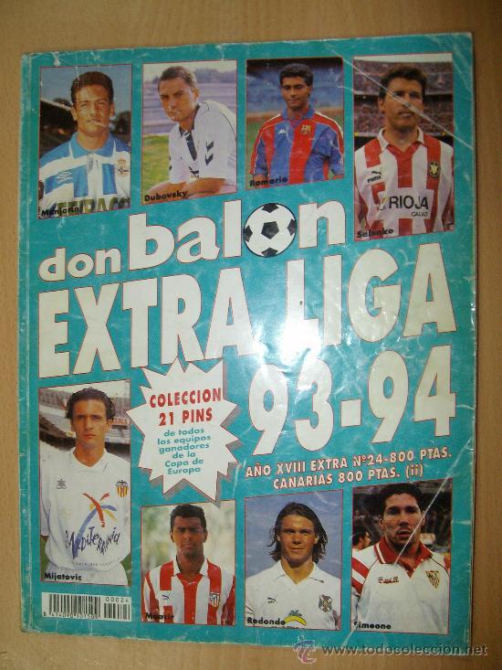 EXTRALIGA DON BALON TEMPORADA 93-94 EXTRA LIGA (Coleccionismo Deportivo - Revistas y Periódicos - Don Balón)