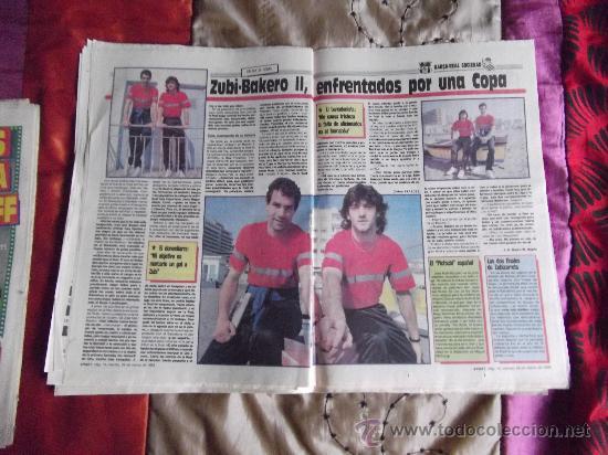 Coleccionismo deportivo: SPORT-Nº3016-56PAGINAS-1988-VALVERDE-ZUBIZARRETA-BAQUERO - Foto 2 - 23315015