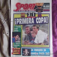 Collectionnisme sportif: SPORT-Nº3162-48 PAGINAS- COMPLETO-1988-. Lote 23315165