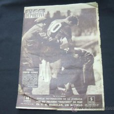 Coleccionismo deportivo: VIDA DEPORTIVA Nº 802 - 23 ENERO 1961 - KUBALA SIEMPRE KUBALA. Lote 23385508