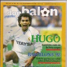 Coleccionismo deportivo: DON BALON-REVISTA-FEBRERO DE 1991. Lote 23519183