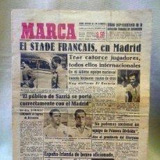 Coleccionismo deportivo: PERIODICO DEPORTIVO MARCA, 5 DE MAYO DE 1948, STADE FRANCAIS EN MADRID. Lote 24015293