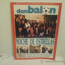 Coleccionismo deportivo: REVISTA DON BALON Nº791 DICIEMBRE 1990 (). Lote 26973550