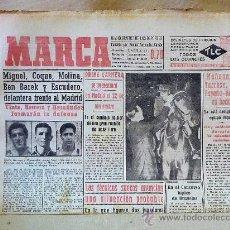 Coleccionismo deportivo: PERIODICO DEPORTIVO MARCA, 31 DE OCTUBRE , 1953 . Lote 24274548