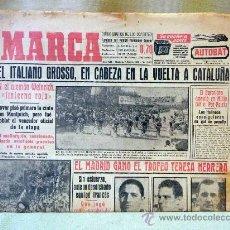 Coleccionismo deportivo: DEPORTIVO MARCA, 7 DE SEPTIEMBRE 1953. Lote 24274934