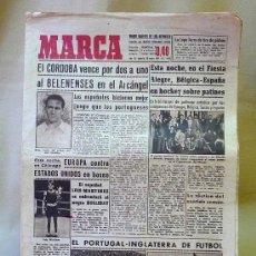 Coleccionismo deportivo: DEPORTIVO MARCA, 28 MAYO 1947. Lote 24275111