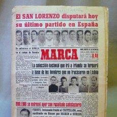 Coleccionismo deportivo: DEPORTIVO MARCA, 6 FEBRERO 1947. Lote 24275148