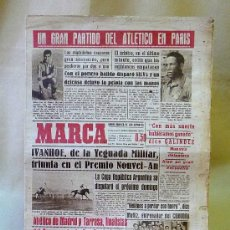 Coleccionismo deportivo: DEPORTIVO MARCA, 18 ABRIL 1948. Lote 24275519