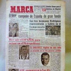Coleccionismo deportivo: DEPORTIVO MARCA, 3 DE OCTUBRE 1947. Lote 24275730