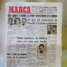 Coleccionismo deportivo: DEPORTIVO MARCA, 19 SEPTIEMBRE 1947. Lote 24275885