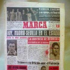 Coleccionismo deportivo: DEPORTIVO MARCA, 16 DE NOVIEMBRE 1947. Lote 24275930