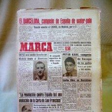 Coleccionismo deportivo: DEPORTIVO MARCA, 20 SEPTIEMBRE 1947. Lote 24276004
