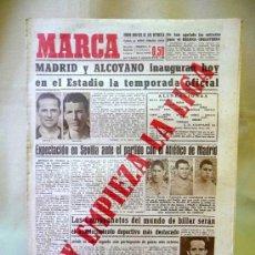 Coleccionismo deportivo: PERIODICO DEPORTIVO MARCA, 21 SEPTIEMBRE 1947. Lote 24276318