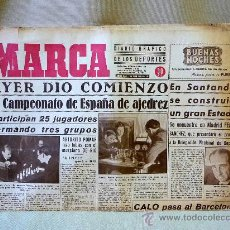 Coleccionismo deportivo: PERIODICO DEPORTIVO MARCA, 26 DE ABRIL 1944,. Lote 24276557