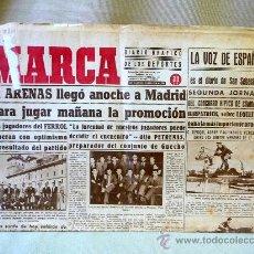 Coleccionismo deportivo: PERIODICO DEPORTIVO MARCA, 22 DE ABRIL 1944. Lote 24276615