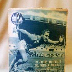 Coleccionismo deportivo: PERIODICO DEPORTIVO MARCA, 20 DE JULIO 1943, Nº 34, AÑO III. Lote 24287497